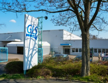 Logistikzentrum - GLS-Verwaltungstrakt in Kassel