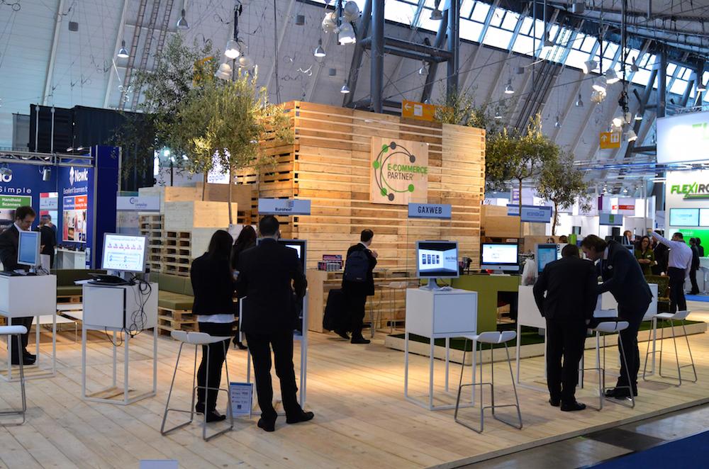 Der E-Commerce Partner Stand auf der TradeWorld 2015