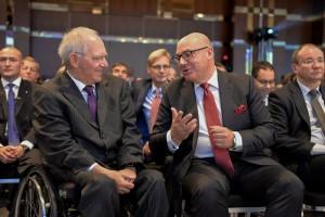Dr. Wolfgang Schäuble und Prof. Dr.-Ing. Raimund Klinkner