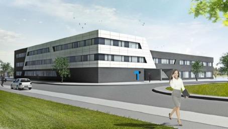 Das neue TUP-Gebäude setzt in Sachen Energieverbrauch neue Maßstäbe.
