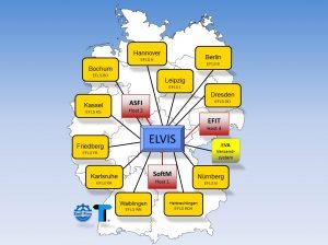 EF-Logistik-Übersichtsplan zu den Logistikzentren