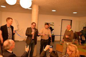 Die Geschäftsführer Simon und Mathias Thomas eröffnen den TUP-Campus