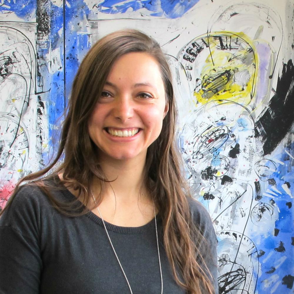 Nadine Huber - seit der Ausbildung im selben Unternehmen angestellt.