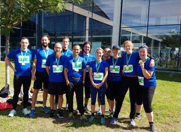 TUP-Teams beim Baden-Marathon 2017
