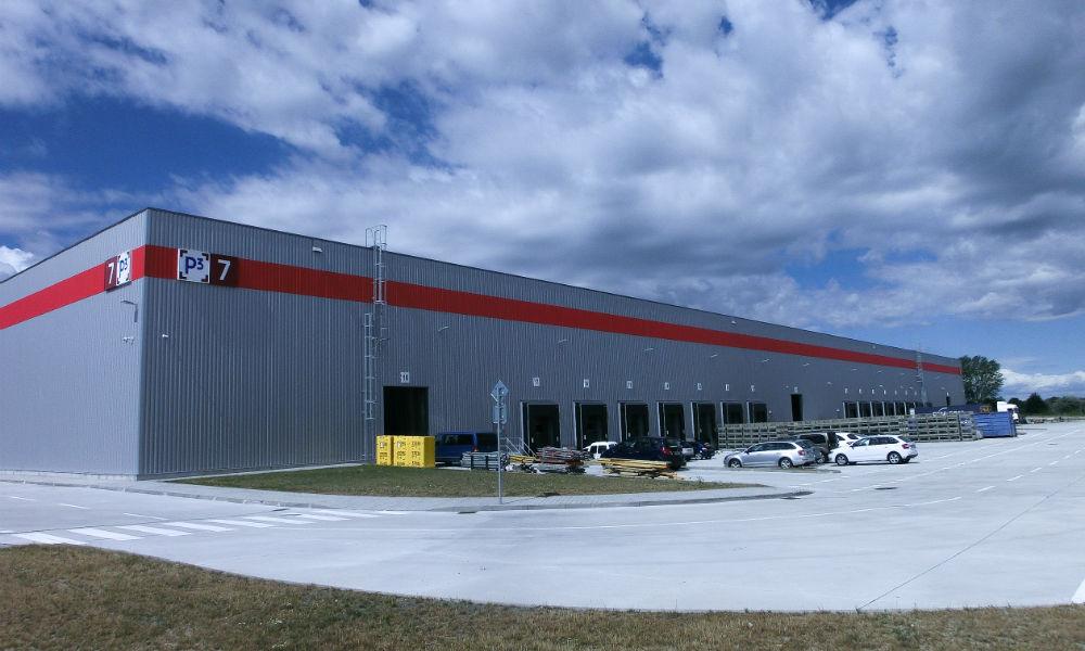 Neues Logistikzentrum der EF Parts & Logistic Service s.r.o., Bratislava