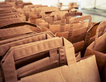 Das vollautomatische Tütenverpackungssystem nExtCOMbag von Dr. Thomas + Partner wird erstmal auf dem Deutschen Materialfluss-Kongress vorgestellt.