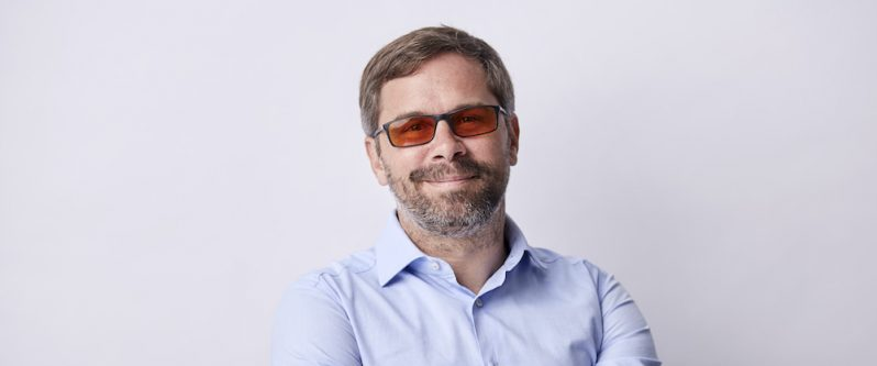 Die Zukunft digital gestalten - Mathias Thomas, Vorstand im CyberForum Karlsruhe versucht genau das.