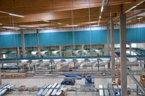 Auch wenn noch Baustelle zu erkennen ist; Ende des Jahres ist GoLive der gesamten Anlage.