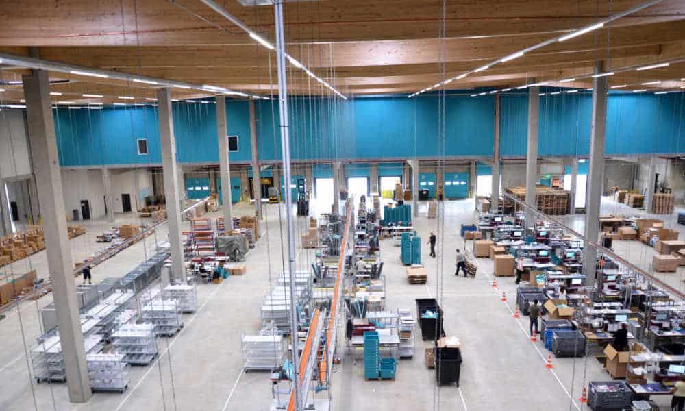Lesara in Erfurt setzt beim neuen Logistik-Verteilzentrum auf die Software von Dr. Thomas und Partner/TUP.