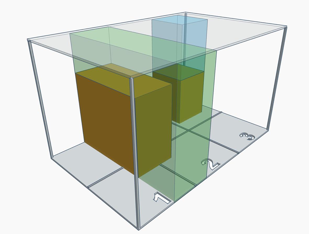 Der Echtraumrechner von TUP zeigt visualisiert dem Anwender, welcher Lagerplatz am Besten geeignet ist.
