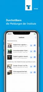 Klein aber Fein - die Kompaktansicht in der Logistik KNOWHOW App.