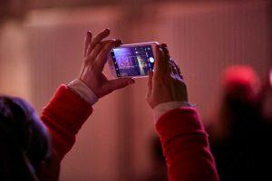 Auf der hallo.digital wurde natürlich auch per Smartphone fotografiert.
