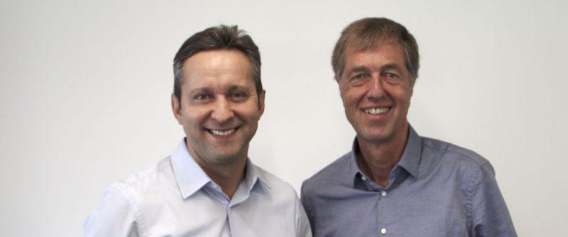 Günther Pfisterer und Eudard Wagner Geschäftsführer von Thomas und Partner